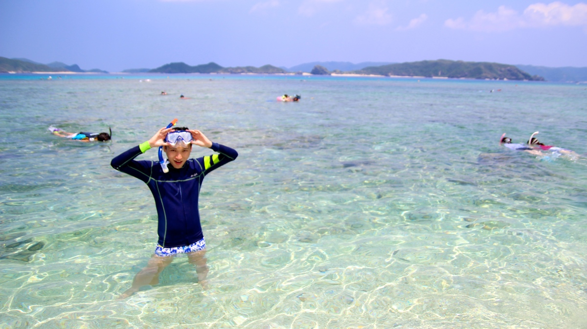 Nishibama Beach Okinawa - Snorkeling Paradise of Japan